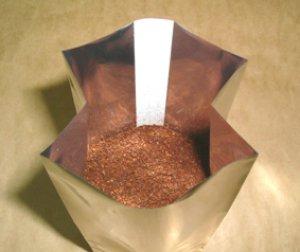 画像2: コーヒー アロマシール アルミ蒸着ガセット袋 100〜200g用