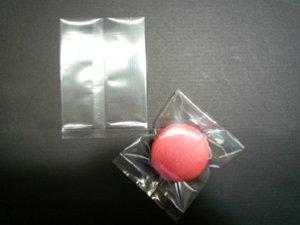 画像1: ガス袋 マカロン用 無地 70x100mm