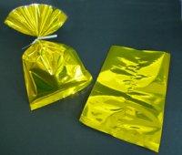 メタリック・ラッピング袋(ゴールド)